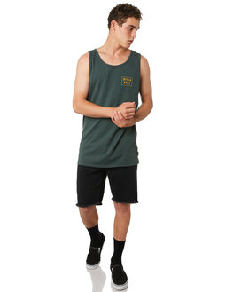 DARK FOREST MENS CLOTHING BILLABONG SINGLETS - 9582508DKFST