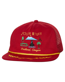 REDDISH MENS ACCESSORIES POLER HEADWEAR - 31700001RDS