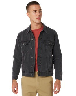 BIKER BLACK MENS CLOTHING BARNEY COOLS JACKETS - 510-CR1BBLK