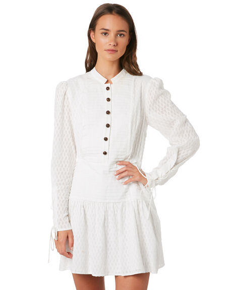 WHITE WOMENS CLOTHING STEVIE MAY DRESSES - SL190616DWHT