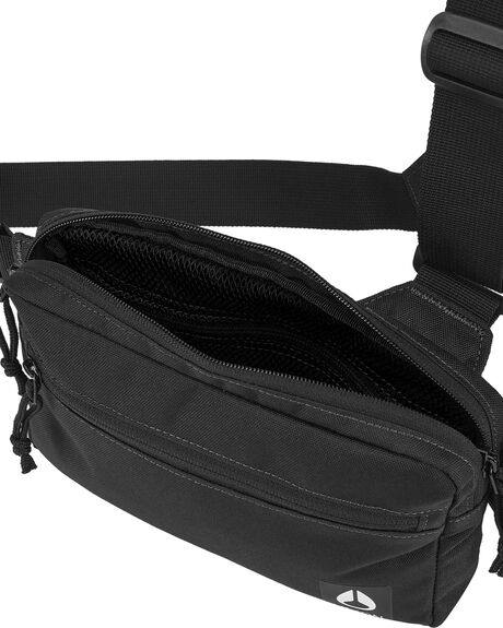 BLACK MENS ACCESSORIES NIXON BAGS + BACKPACKS - C3027-000