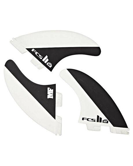 BLACK SURF HARDWARE FCS FINS - FMFL-PC01-LG-TS-R