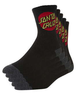 BLACK KIDS BOYS SANTA CRUZ SOCKS + UNDERWEAR - SC-YZNC011BLK
