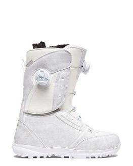 WHITE BOARDSPORTS SNOW DC SHOES BOOTS + FOOTWEAR - ADJO100017-WHT