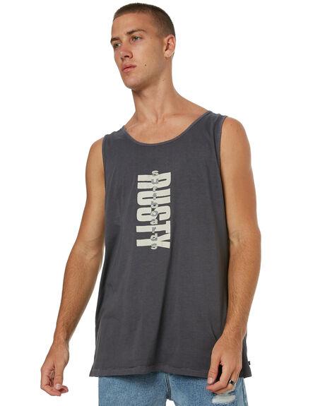 COAL MENS CLOTHING RUSTY SINGLETS - TSM0437COA