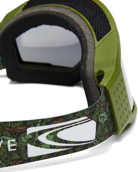 MATT OLIVE GREY BOARDSPORTS SNOW CARVE GOGGLES - 6094MOLV