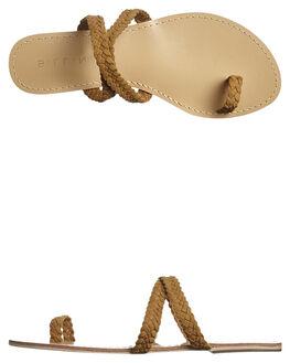 TAN SUEDE WOMENS FOOTWEAR BILLINI FASHION SANDALS - S427TAN
