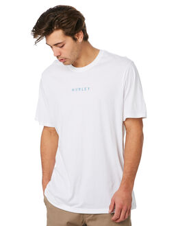 WHITE MENS CLOTHING HURLEY TEES - AR5467100