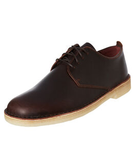 CHESTNUT LEATHER MENS FOOTWEAR CLARKS ORIGINALS FASHION SHOES - SSDESERTLONDONCHESM