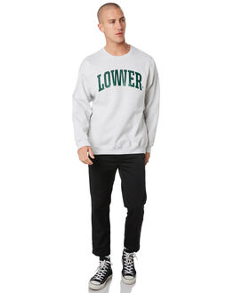 SILVER MARLE MENS CLOTHING LOWER JUMPERS - LO19Q3MSW01SLVML