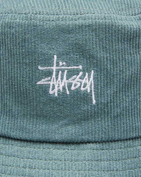 PETROL MENS ACCESSORIES STUSSY HEADWEAR - ST705000PTRL