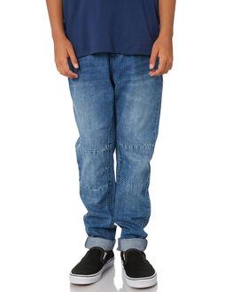 HERITAGE BLUE KIDS BOYS RIDERS BY LEE PANTS - R-30074T-KA4HRIBU