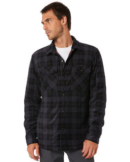 DARK CHARCOAL MENS CLOTHING VOLCOM JACKETS - A1612002DCR