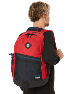 POMPEI RED MENS ACCESSORIES ELEMENT BAGS + BACKPACKS - 174484BPRED