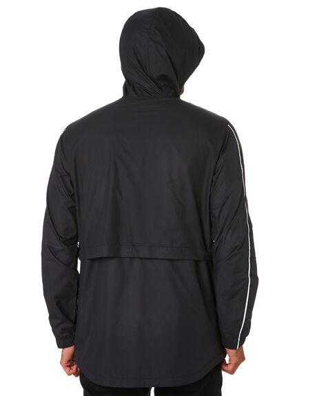 BLACK MENS CLOTHING HURLEY JACKETS - CJ6338010