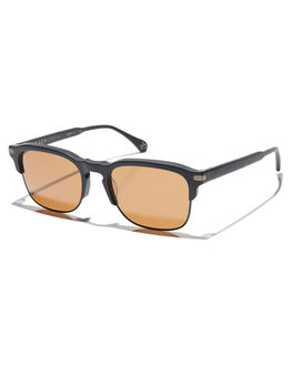 MATTE BLACK MENS ACCESSORIES RAEN SUNGLASSES - 100W181MWI-S218-53