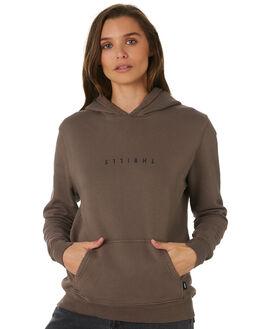 MOSS GREY WOMENS CLOTHING THRILLS JUMPERS - WTW9-201GMOSG