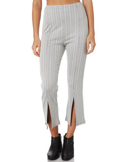 BLACK WHITE STRIPE WOMENS CLOTHING MINKPINK PANTS - MP1808031BLKWH