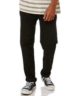FLAT BLACK MENS CLOTHING RIDERS BY LEE JEANS - R-501055-LG0FBLK