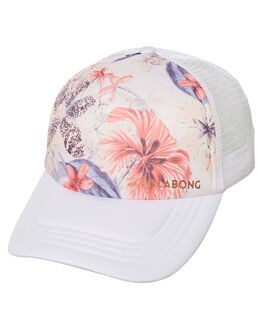 WHITE WOMENS ACCESSORIES BILLABONG HEADWEAR - 6672310AWHT