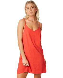 POPPY RED WOMENS CLOTHING BILLABONG DRESSES - 6572476POP