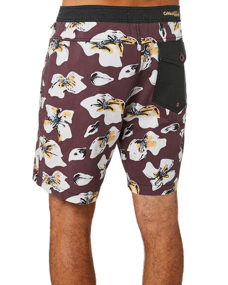 WINE MENS CLOTHING THE CRITICAL SLIDE SOCIETY BOARDSHORTS - BS1945WNE