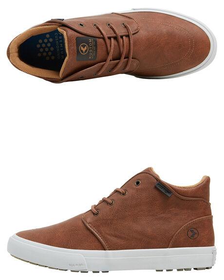BROWN MENS FOOTWEAR KUSTOM BOOTS - 4988102BBRN