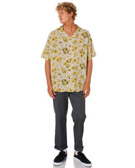 TAN MENS CLOTHING STUSSY SHIRTS - ST005401TAN