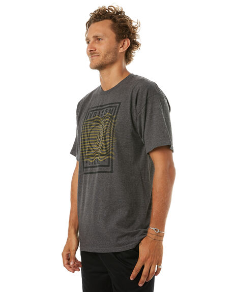 CHAR OUTLET MENS VOLCOM TEES - A35417T3CHR