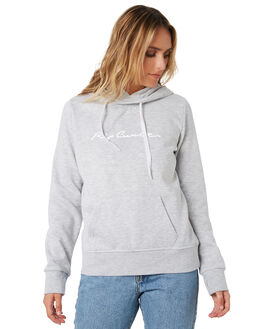 LIGHT GREY HEATHER WOMENS CLOTHING RIP CURL JUMPERS - GFEJE13233