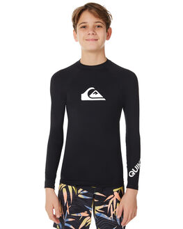 BLACK SURF RASHVESTS QUIKSILVER BOYS - UQBWR03011KVJ0
