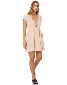 DUSTY ROSE WOMENS CLOTHING VOLCOM DRESSES - B1341978DRO