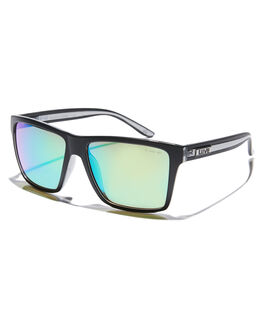 MATTE BLACK MENS ACCESSORIES LIIVE VISION SUNGLASSES - L0671AMBLK
