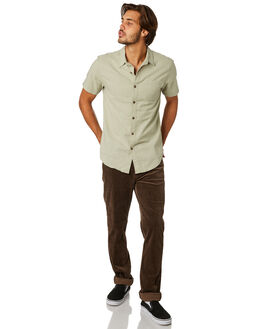 DUSTY SAGE MENS CLOTHING RHYTHM SHIRTS - APR19M-WT03-DSA