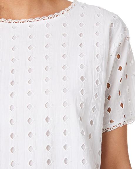 WHITE WOMENS CLOTHING RIP CURL FASHION TOPS - GSHFV11000