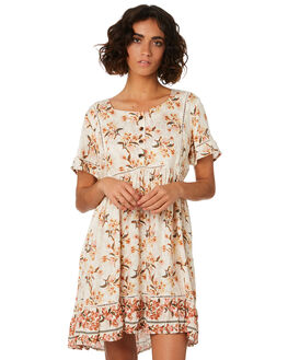 CREAM WOMENS CLOTHING THE HIDDEN WAY DRESSES - H8201454CREAM