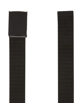 BLACK GREY MENS ACCESSORIES RIP CURL BELTS - CBEBO10097