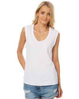 WHITE WOMENS CLOTHING SWELL SINGLETS - S8174272WHITE