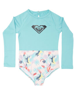 TROPICAL PARROTS KIDS TODDLER GIRLS ROXY SWIMWEAR - ERLWR03067MDR6