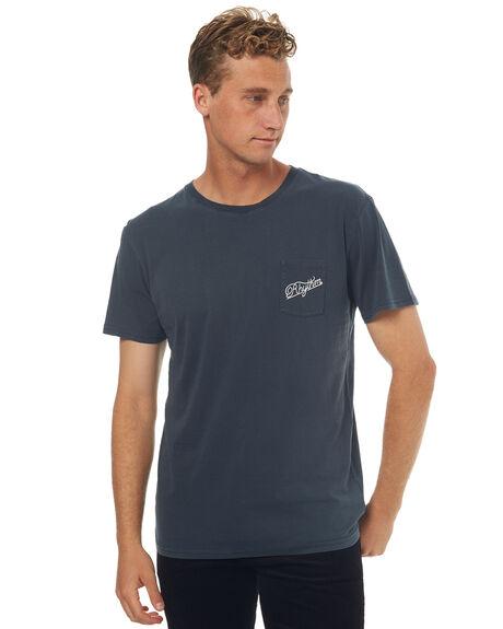 INDIGO MENS CLOTHING RHYTHM TEES - JUL17-TS02-IND