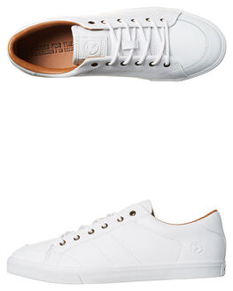 WHITE SUPREME MENS FOOTWEAR KUSTOM SNEAKERS - 4981116KWHI