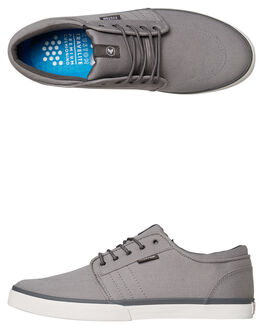 ALL GREY MENS FOOTWEAR KUSTOM SNEAKERS - 4984106AGRY