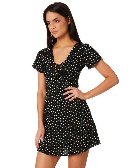 DOT WOMENS CLOTHING VOLCOM DRESSES - B1331883DOT