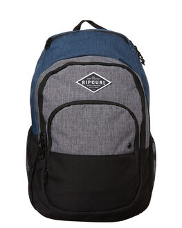 NAVY GREY MENS ACCESSORIES RIP CURL BAGS - BBPSH10049