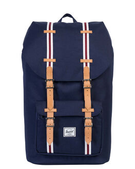 PEACOAT WHITE TAN MENS ACCESSORIES HERSCHEL SUPPLY CO BAGS - 10014-01556-OSPEA
