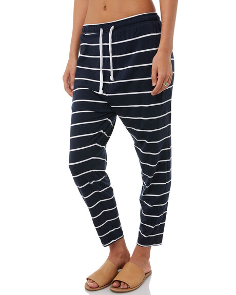 NAVY STRIPE WOMENS CLOTHING ELWOOD PANTS - W81603NVY