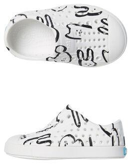 SHELL WHITE ANIMAL KIDS TODDLER BOYS NATIVE FOOTWEAR - 13100101-8606