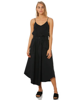 BLACK WOMENS CLOTHING C&M CAMILLA AND MARC SKIRTS - VCMS5174BLK