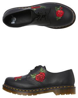 BLACK SOFTY WOMENS FOOTWEAR DR. MARTENS BOOTS - SS24723001BLKW