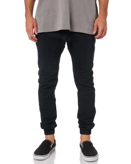 BLACK WASH MENS CLOTHING ZANEROBE PANTS - 718-FLDBLKW